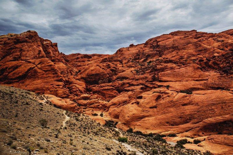 Red Desert Rocks