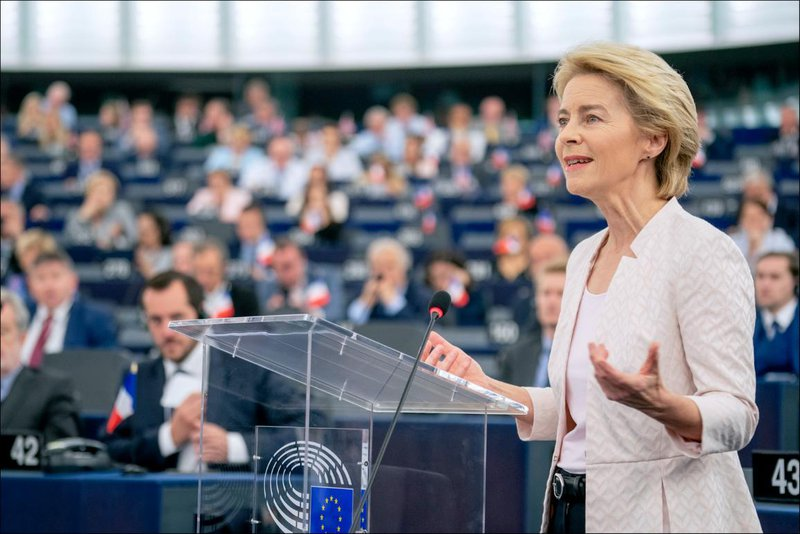 President von der Leyen's introduced the European New Green Deal in her State of the Union Address.