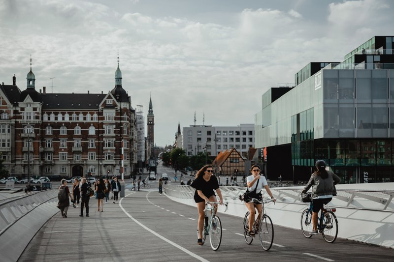 Bike-friendly cities are the future of a low emission future.