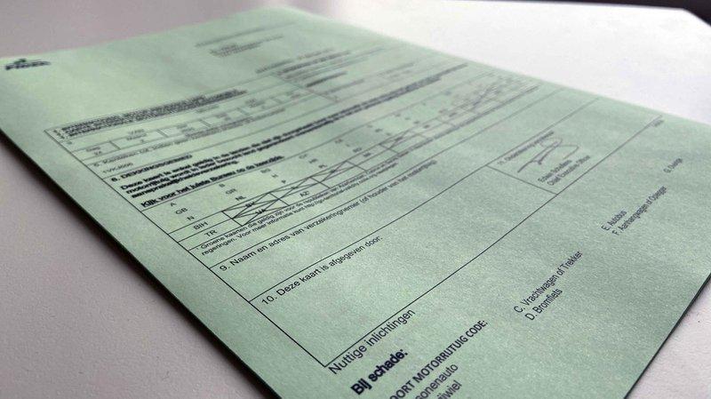 De groene kaart van je autoverzekering.