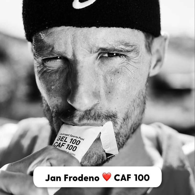 Jan Fordeno loves Maurten Caffeinated Gels