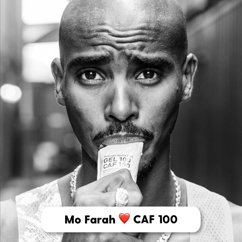 Mo Farah loves Maurten Caffeinated Gels