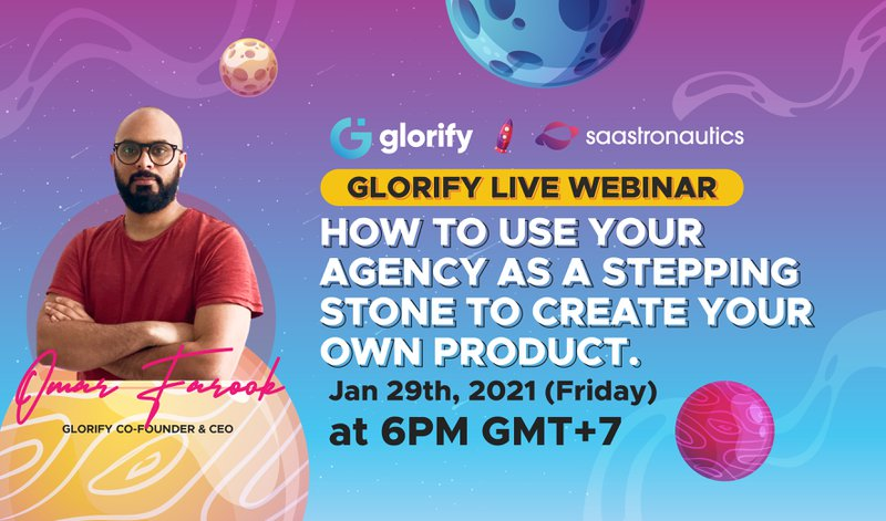 How to use your agency as a stepping stone to create your own product.
