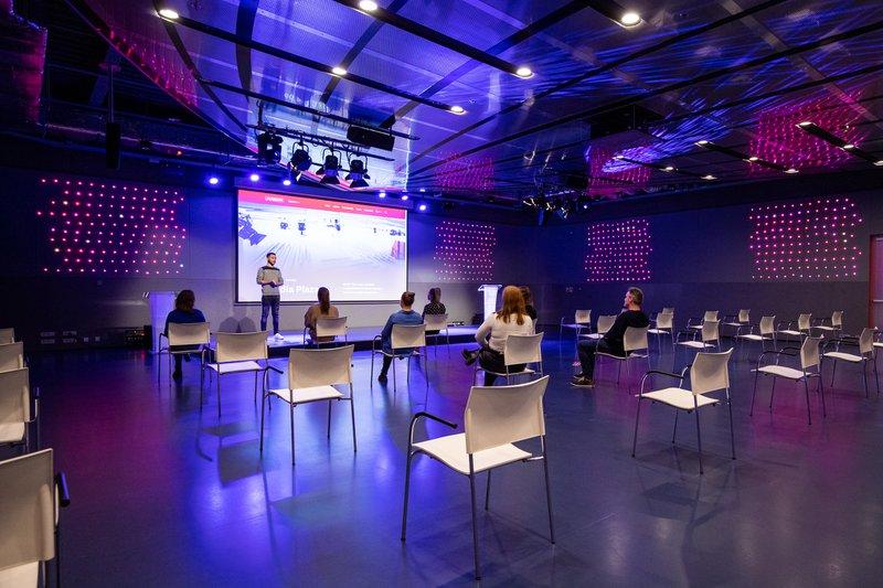 The meeting venues of Jaarbeurs in corona set up