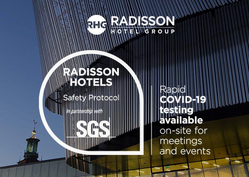 Veilig vergaderen bij Radisson Hotel Group