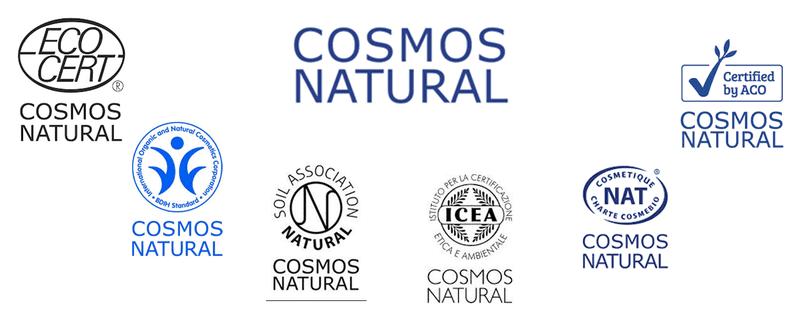Cosmos Standard Natural Siegel für Naturkosmetik und Biokosmetik