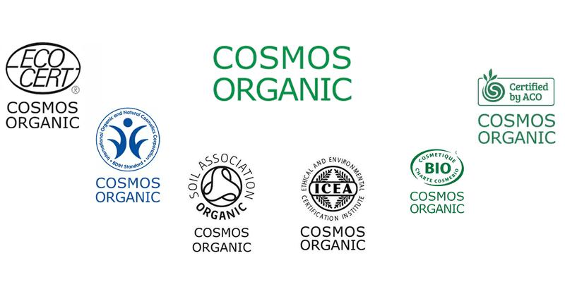 Cosmos Standard Organic Siegel für Naturkosmetik und Biokosmetik