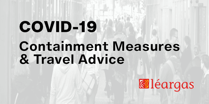 COVID-19 Containment Measures and Travel Advice