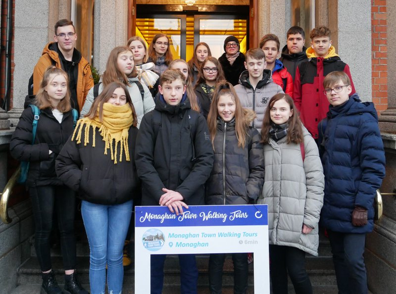 Erasmus+ connected a school in Ireland with a school in Lithuania