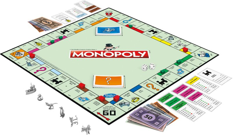 monopoly as a game of chance