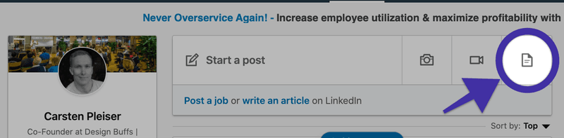 How to create LinkedIn Carousel Posts