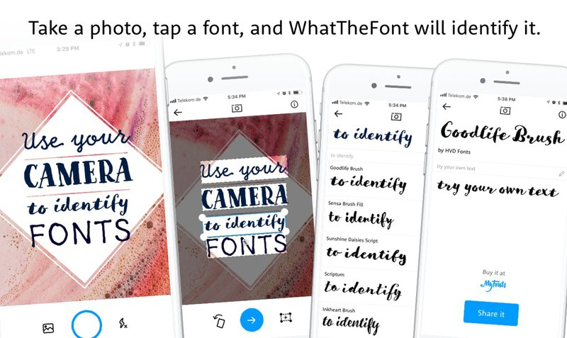 Design Tools For Startups - WhatTheFont