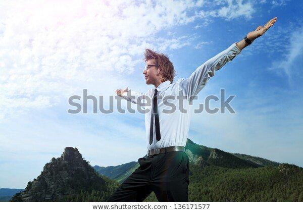 Stock photos for marketing - mountain