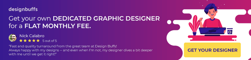 facebook ad design - design buffs