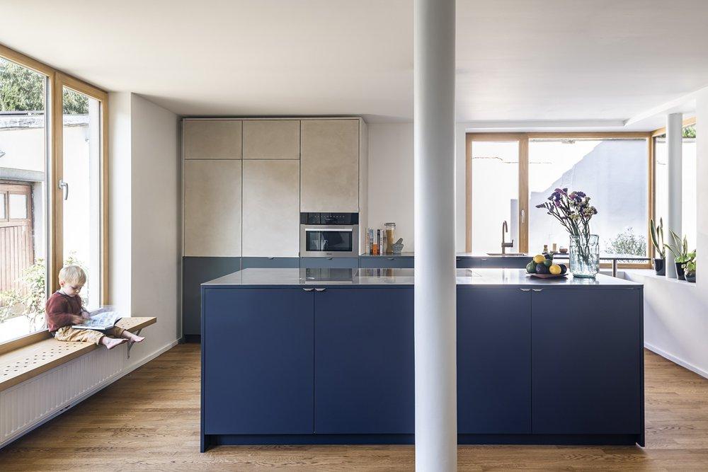 Firmax - hoe een ikea metod keuken met firmax fronten in fenix en fineer helemaal mooi is door de materiaal en kleurcombinaties