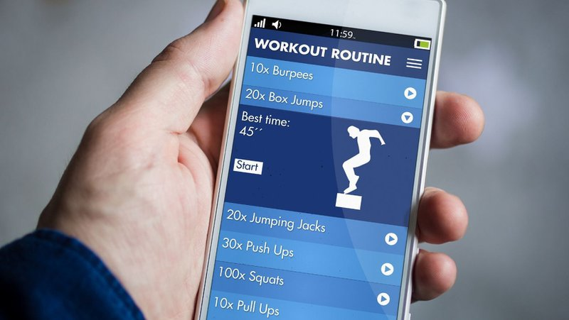 App-based fitness is an top fitness trend of 2021