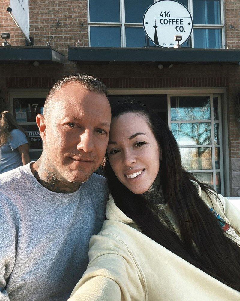 Jo Colette and partner Chris