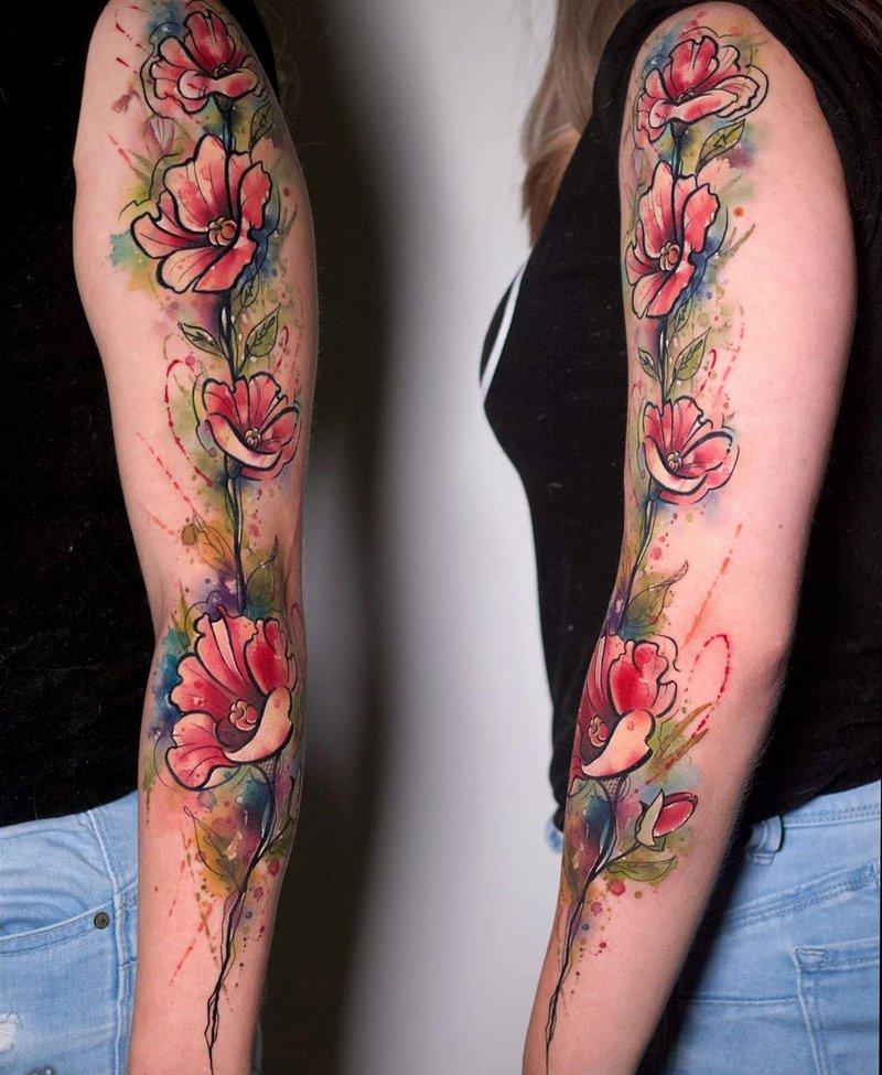 JF Biron floral work