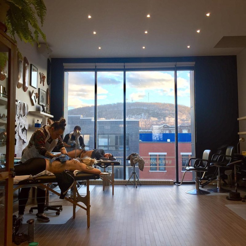 IMAGO Tattoo in Montreal it all its splendor from inside