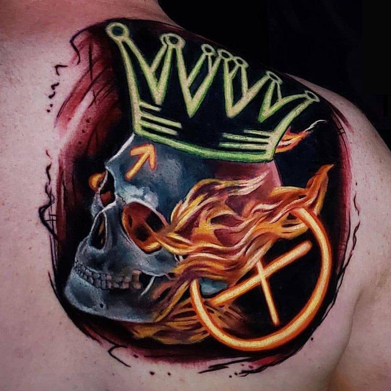 Tattoo by Glen Decker