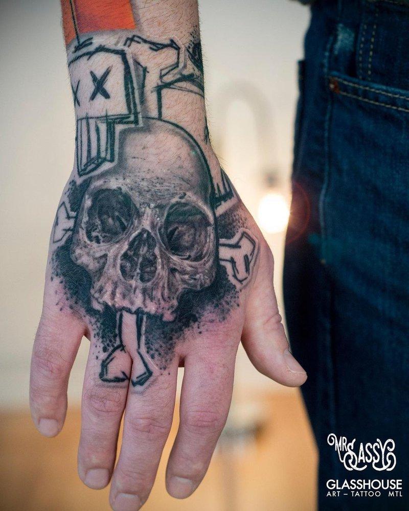Tattoo by Yanick Sasseville