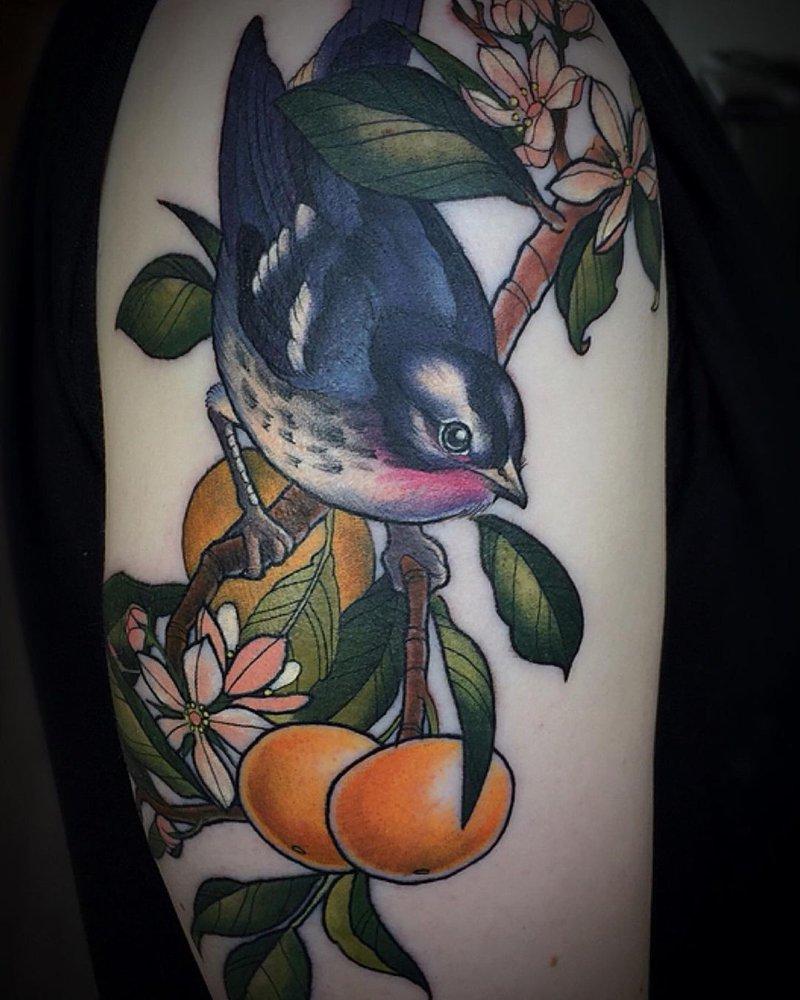 Tattoo by Anne-Marie Dupuis