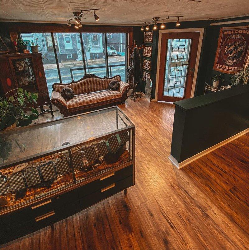Tasha Tonks Three of Sword Tattoo parlor