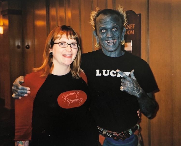 8 Months pregnant Lindsay Peace & Luck Diamond Rich 2004