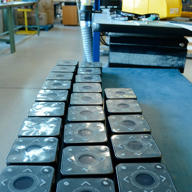 ES500 Power Supply Units Ready for packaging