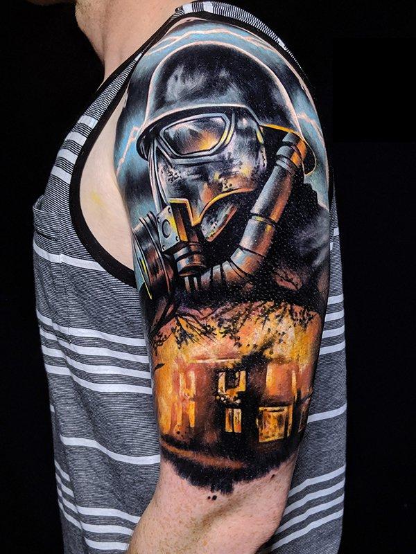 Fireman - Ink by Saga