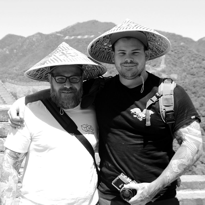 Paul Tougas & Myself - Great Wall of China 2016