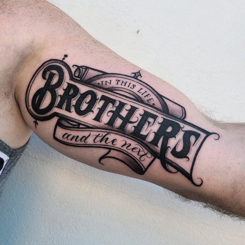 Mr. Scriptkeeper tattoo
