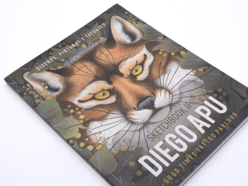 Tattoo Book - Diego Apu - Sketchbook II