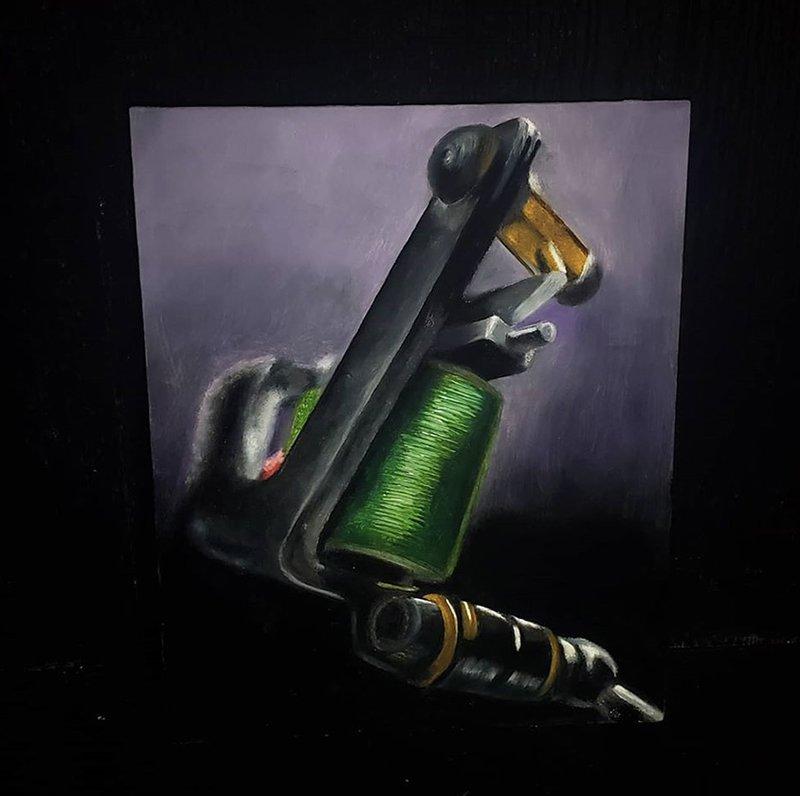 """Glen Decker """"Greeny"""" portrait"""