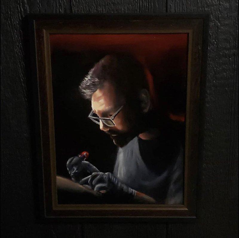 Glen Decker portrait of Justin Poirier