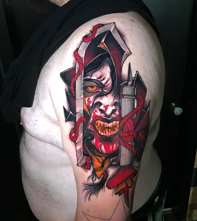 Tattoo By Rich Wren