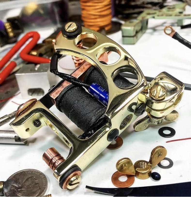 Mike Young Tattoo Machines