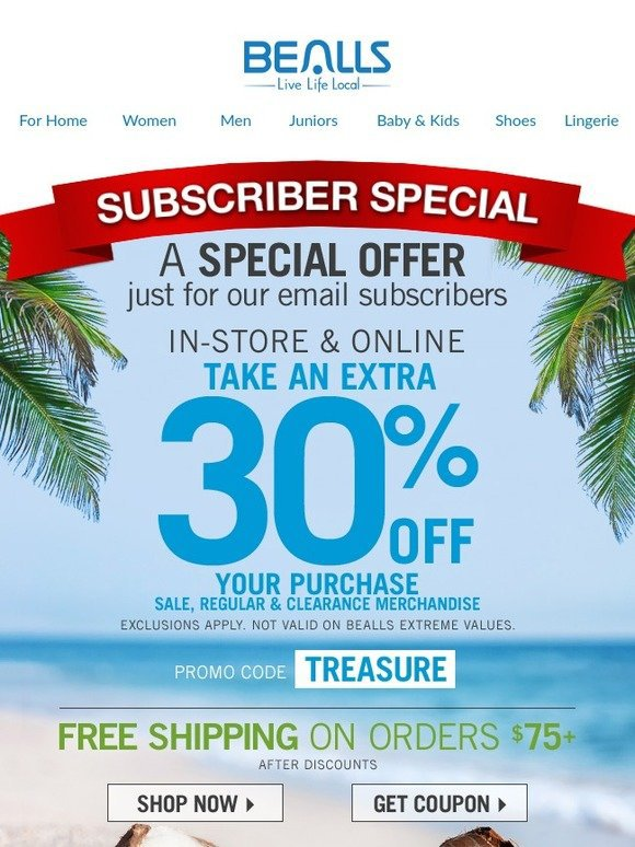 Reduce newsletter unsibscribe rates with special offers