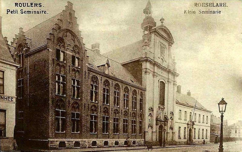 """ROESELARE          """" Het Klein Seminarie Anno 1900 """""""