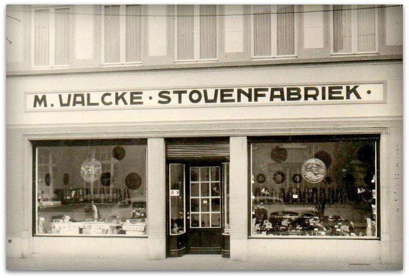 """ROESELARE       """" Stovenfabriek M. Valcke in de Zuidstraat """""""