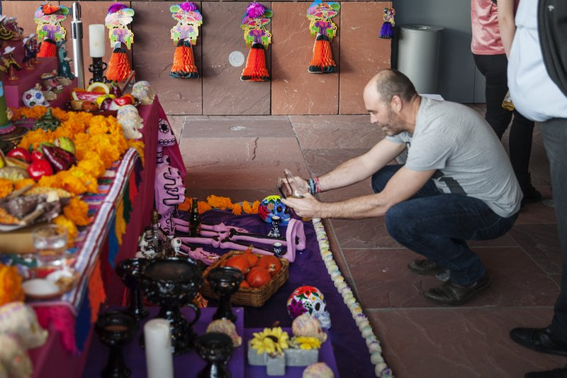 dia de los muertes; Mexico; MAS; Museum aan de Stroom; feest der doden; feest; Allerheiligen