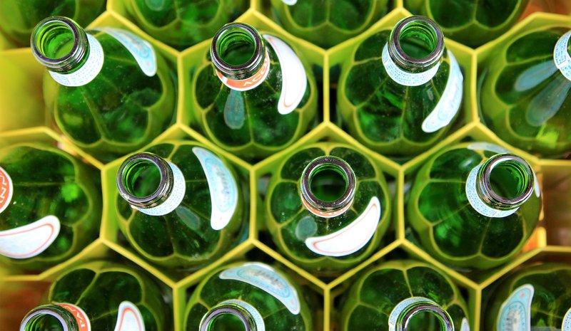 Bottles in Venice