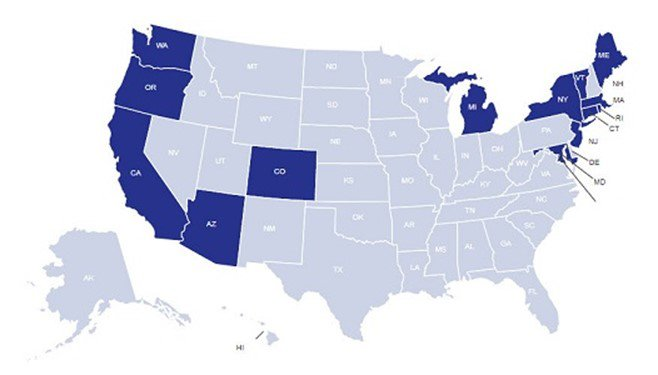 These states require paid sick leave
