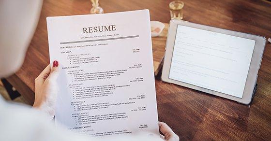Beware of résumé fraud when hiring.