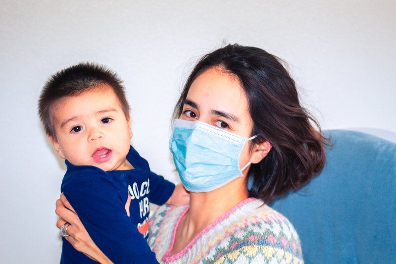 Mom with baby during Coronavirus COVID-19 outbreak, Families First Coronavirus Response Act.