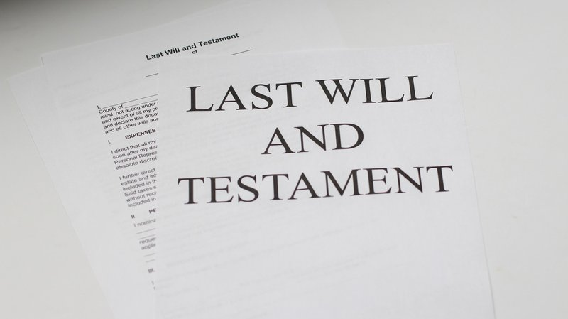 last will and testament, gift and estate taxes
