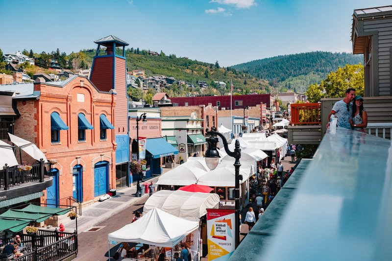 Main Street Park City.  The CARES Act aims to help business weather the pandemic.