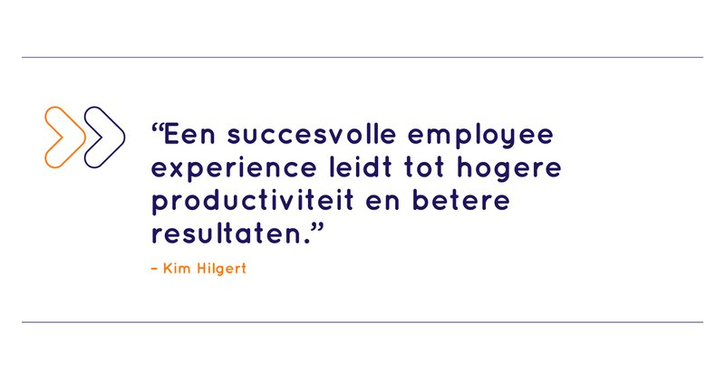 Succesvolle employee experience