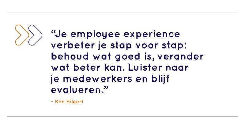 Employee experience verbeteren