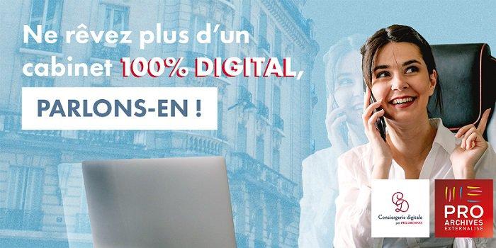 Conciergerie digitale - Pro.Archives